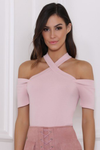 ROMY TOP - DUSTY PINK