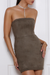 BROOKLYN DRESS - KHAKI