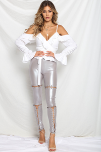 Assassin Leggings - Metallic