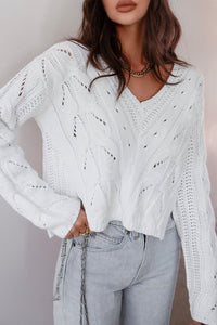 Alicia Knit Jumper - Ivory