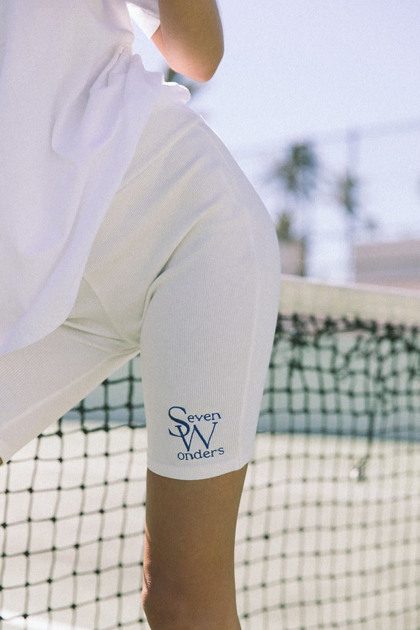 The Logo Bike Shorts - White