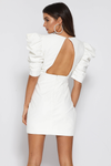 LADY MADONNA DRESS-WHITE