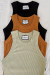 Staple Tank - Tobacco