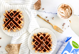 Festive Fall Waffles Breaky For Two!