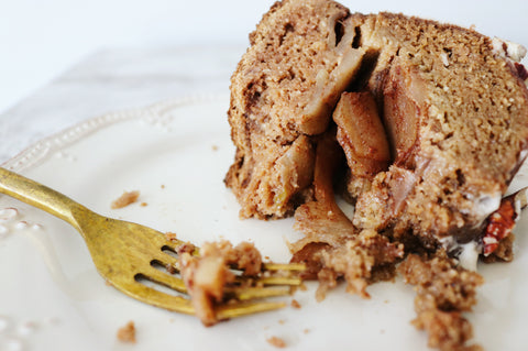 Lovely Layered Apple Bundt