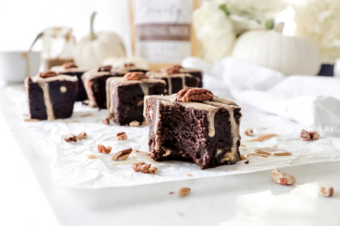 Fudge Brownies | Pumpkin Pecan