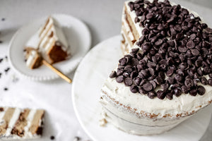 Classic Chocolate-Chip Cookie Cake
