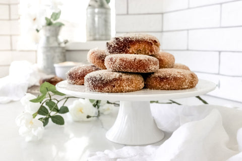 Sugar Donuts & Lemon Curd