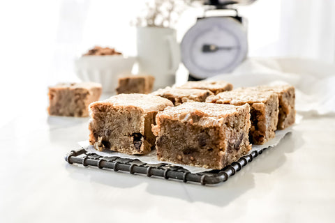 Brown Butter Blondies | Maple Walnut