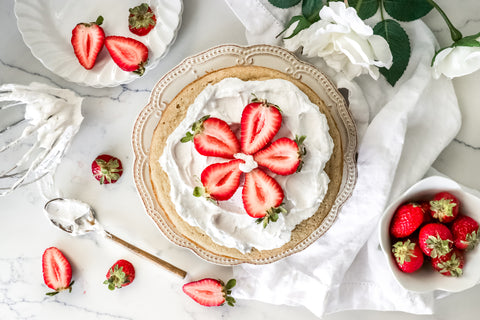 Strawberry Shortcake | Dairy-Free