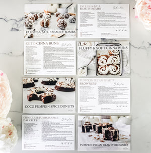 Recipe Cards ~ Baking Mixes