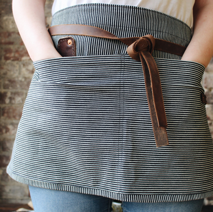 Striped Apron