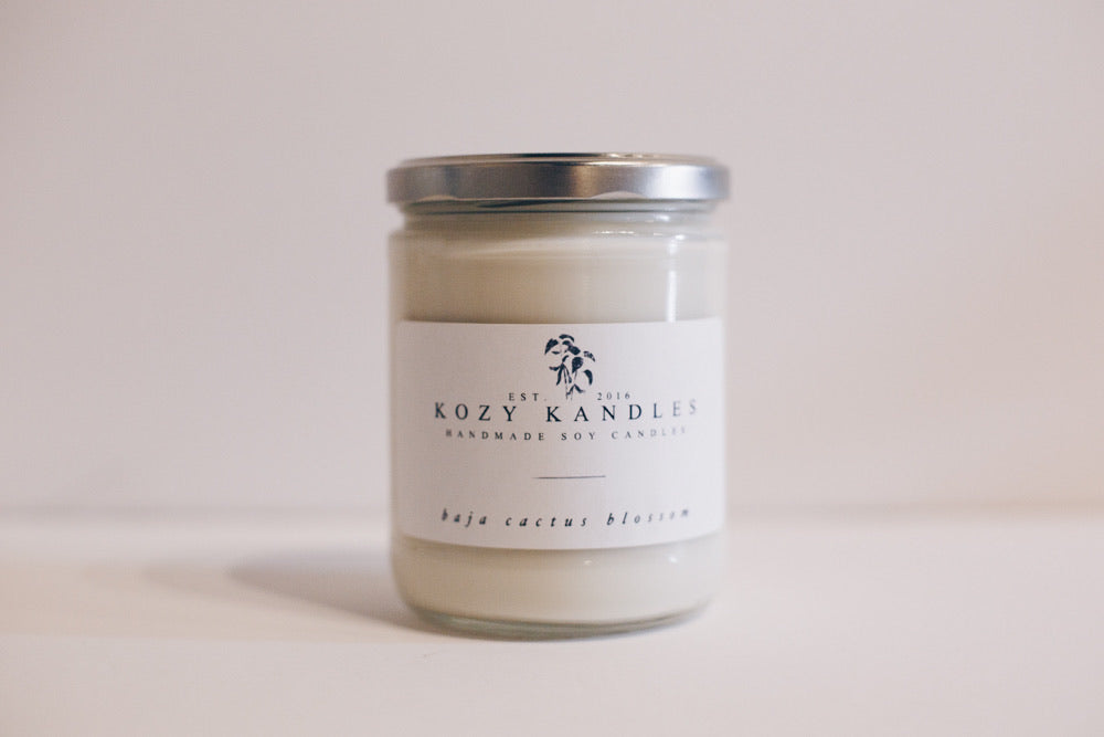 Baja Cactus Blossom 9 oz. Soy Candle