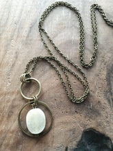 Load image into Gallery viewer, Rough Jade long Necklace