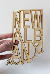 Small New Albany Sign