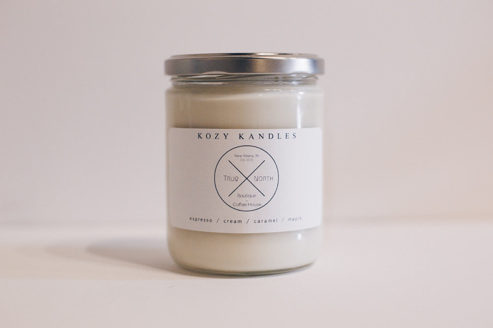 True North Signature Scent by Kozy Kandles 9oz. Soy Candle