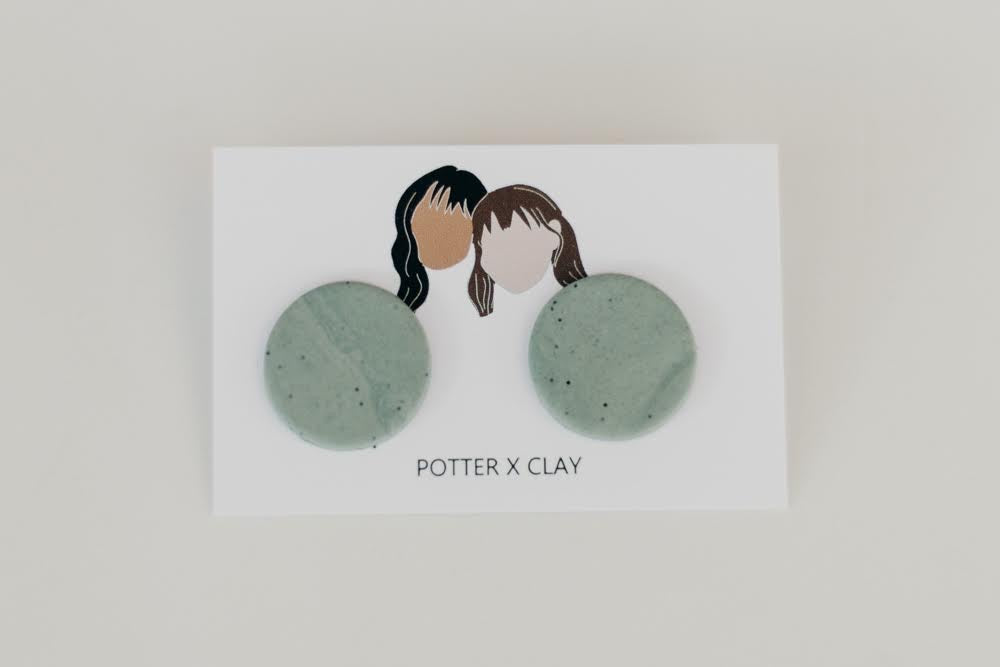 Polymer Clay Post Earrings