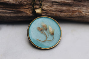 Pressed Floral Necklace