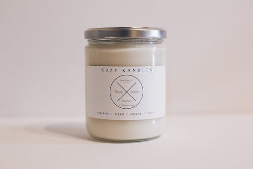 True North Signature Scent by Kozy Kandles 16oz. Soy Candle