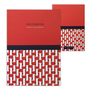 Kate Whyley Valencia Spritz Journal front and back covers on white background