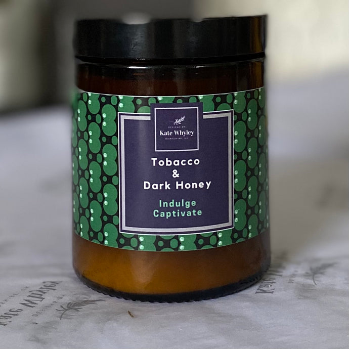 Tobacco & Dark Honey Candle