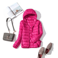 Duck Down Jacket Women