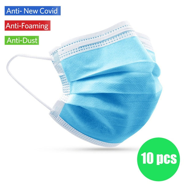 10 Anti-Coronavirus N95 Face Masks
