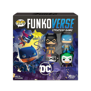 Pop! Funkoverse Dc Comics - 100 - Base Set - www.alabalii.com