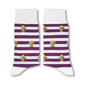 Booza Socks (Purple) - www.alabalii.com