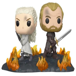 POP Moment: GoT - Daenerys & Jorah B2B w/Swords - www.alabalii.com