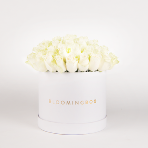 Large white  Box White Roses By Bloomingbox - www.alabalii.com