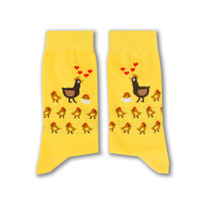 Mama Chick Socks - www.alabalii.com