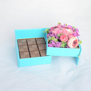 Roses and Chocolate-Small Box by NJD - www.alabalii.com