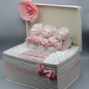 Pink Plush Girl Hamper by Le Chocolatier - www.alabalii.com