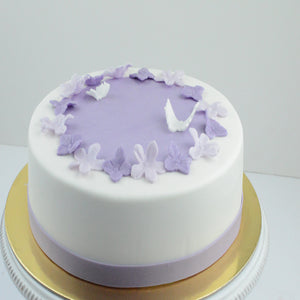 Purple Butterfly Cake by Katrina - www.alabalii.com