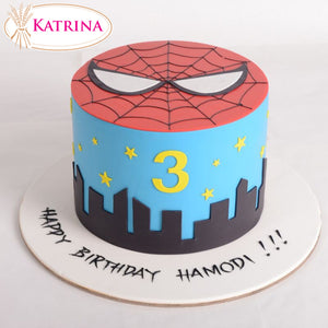 Birthday cake Spiderman 002 - www.alabalii.com