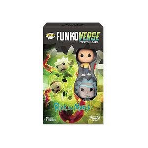 Pop! Funkoverse Rick And Morty - 100 - Base Set - www.alabalii.com
