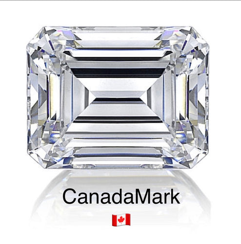 1.01 Carat Emerald , F, VS2, None, Excellent, Excellent, GIA, CanadaMark 🇨🇦