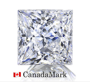 1.02 Carat Princess, G, VS2, None, Excellent, Very Good, GIA, CanadaMark 🇨🇦