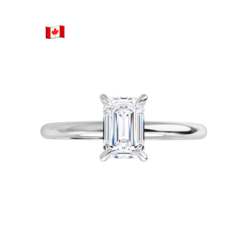 Polar Bear Canadian Diamond Engagement Ring