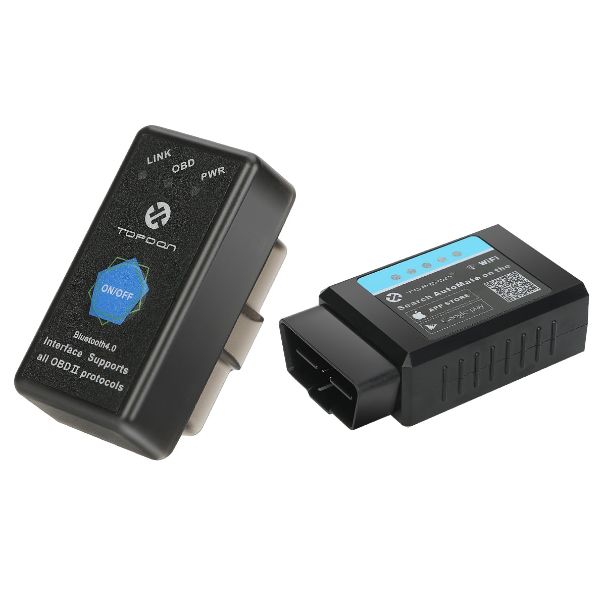 AutoMate: OBDII Bluetooth Diagnostic Scanner for iOS & Android