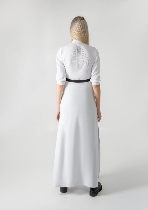 Frondicularia Dress White  | SOLD OUT | PRE-ORDER ONLY