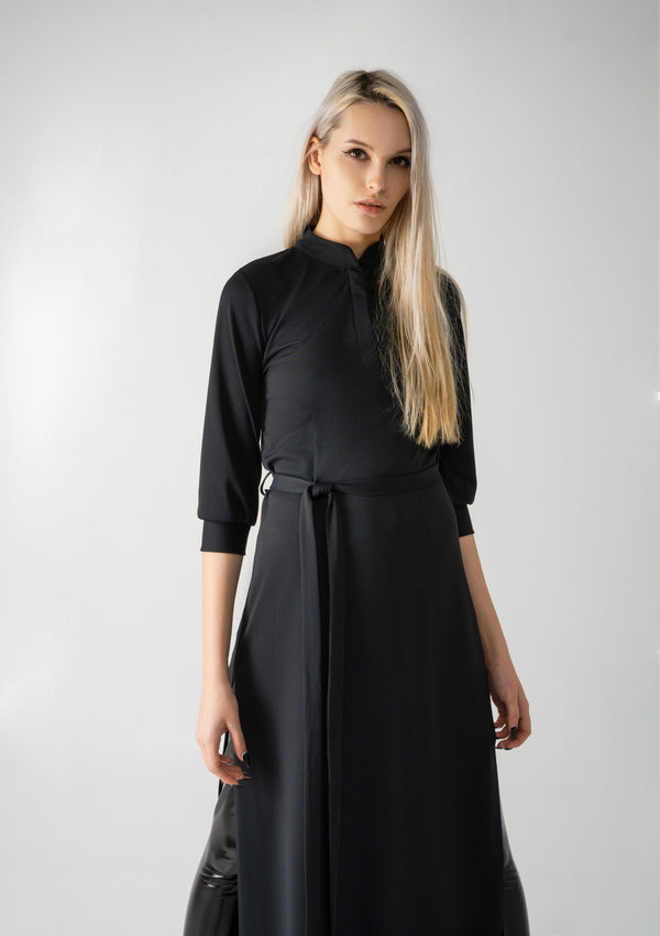 Frondicularia Dress Black | SOLD OUT | PRE-ORDER ONLY