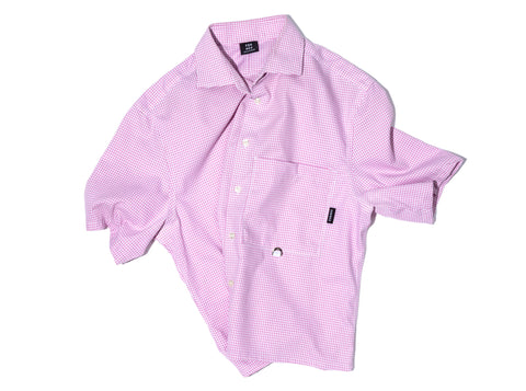 PASTEL PINK RE-WORK SHIRT