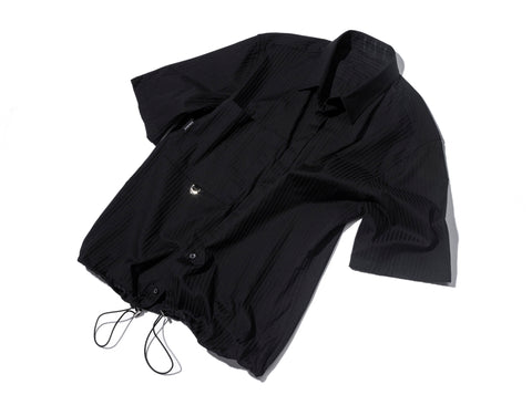 BLACK RE-WORK SHIRT