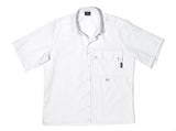 WHITE RE- WORK SHIRT