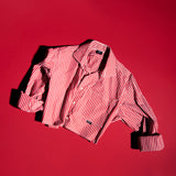 RED STRIPE RE-WORK SHIRT