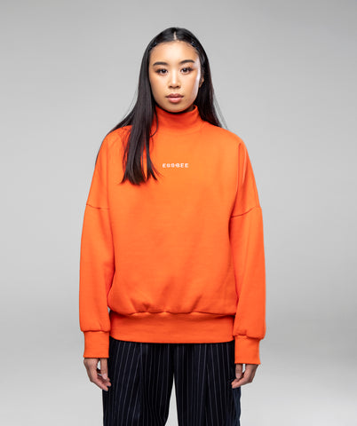 DONT SWEAT ME SWEATER- ORANGE