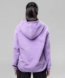 THE GIRLFRIEND POLAR HOODIE-LILAC