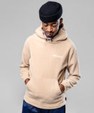 THE GIRLFRIEND POLAR HOODIE- TAN